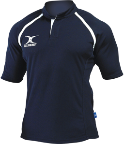 Gilbert SHIRT XACT II NAVY 12-13