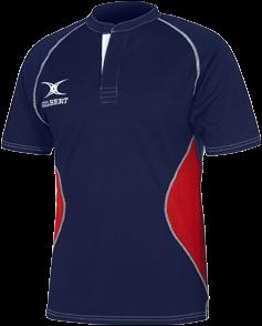 Gilbert Shirt Xact V2 Navy/Red