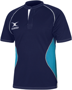 Gilbert SHIRT XACT V2 NAVY/LSK 2XL
