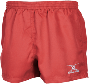 Gilbert SHORTS SARACEN II RED 7-8
