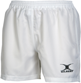 Gilbert SHORTS SARACEN WHITE LDS 10