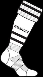 Gilbert Sock Training Ii Wit Jun 3-6