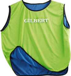 Gilbert Bib Reversible Blu/Grn Junior
