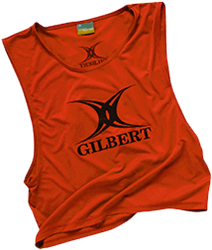 Gilbert Bib Polyester Red Adult