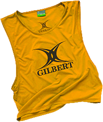 Gilbert Bib Polyester Yellow Adult