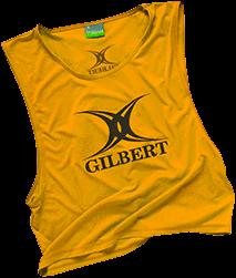 Gilbert BIB POLYESTER YELLOW ADULT