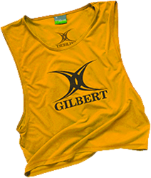 Gilbert Bib Polyester Yellow Boys