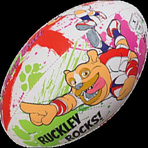 Bal supporter Ruckley Maat 4