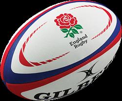 Gilbert rugbybal Replica England S. - Midi