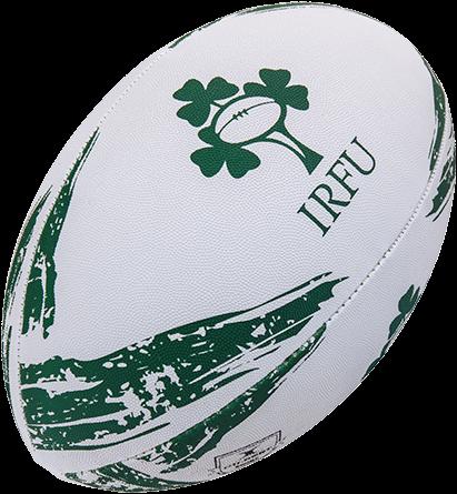 Gilbert rugbybal Supporter Ierland Maat 4