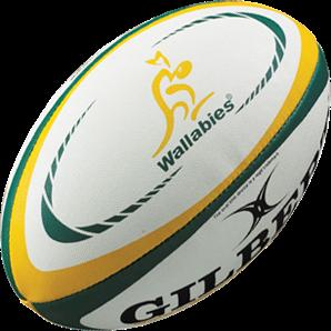 Gilbert rugbybal Replica Australia maat 5
