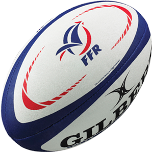Gilbert rugbybal Replica France maat 5