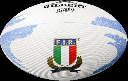 Gilbert rugbybal Beach Italië maat 4