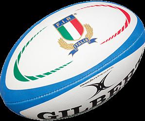 Gilbert rugbybal REPLICA ITALIA - Mini 15cm