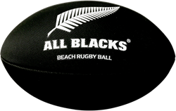 Gilbert rugbybal Beach New Zealand Blk