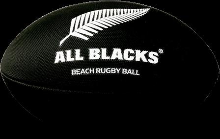 Gilbert rugbybal Beach New Zealand Blk