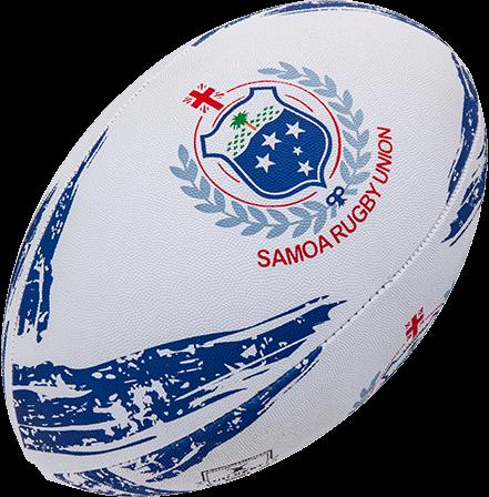 Gilbert rugbybal Supporter Samoa Sz 5