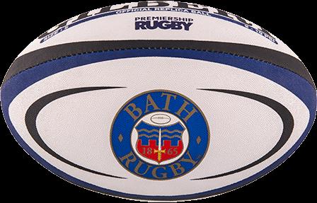 Gilbert rugbybal Replica Bath maat 4