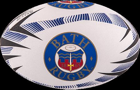 Gilbert rugbybal Supporter Bath Sz 4