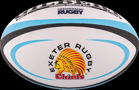 Gilbert rugbybal REPLICA EXETER - maat 4