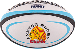 Gilbert rugbybal Replica Exeter Midi