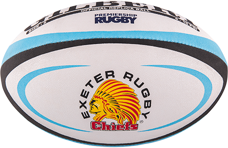 Gilbert rugbybal Replica Exeter Mini