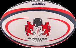 Gilbert rugbybal Replica Gloucester Midi