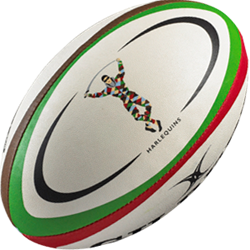 Gilbert rugbybal Replica Harlequins Midi