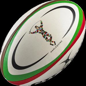 Gilbert rugbybal REPLICA HARLEQUINS - Midi 24cm