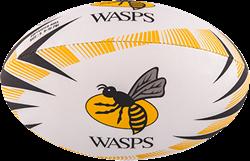 Gilbert rugbybal Supp Wasps maat 4