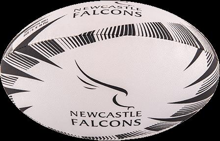 Gilbert rugbybal Supporter Newcastle maat 5