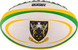 Gilbert rugbybal Replica Northampton Midi