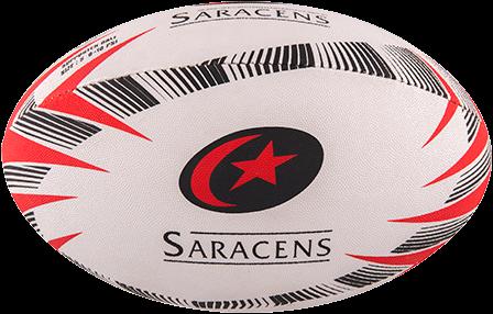 Gilbert rugbybal SUPPORTER SARACENS - maat 4