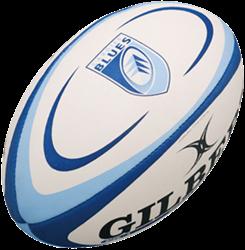 Gilbert rugbybal Replica Cardiff Midi