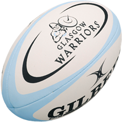 Gilbert rugbybal Replica Glasgow Rfc maat 5