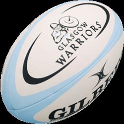 Gilbert rugbybal Replica Glasgow Rfc Mini