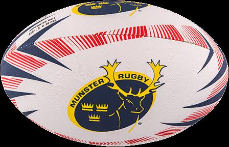 Gilbert rugbybal Supporter Munster maat 4