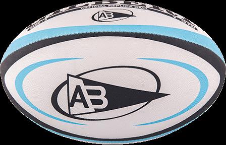 Gilbert rugbybal REPLICA BAYONNE - maat 5