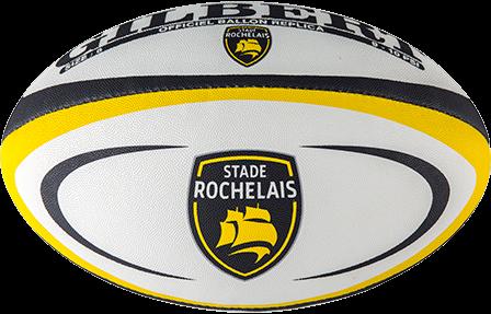 Gilbert rugbybal Replica La Rochelle Mini