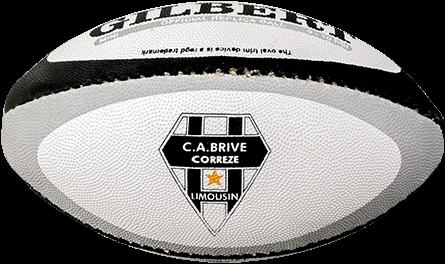 Gilbert rugbybal REP CA BRIVE CORREZE - Mini 15cm