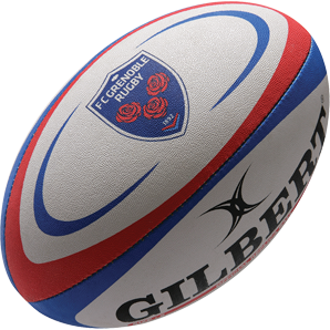 Gilbert rugbybal REPLICA GRENOBLE - Mini 15cm