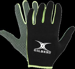 Gilbert GLOVE ATOMIC BLACK/GREEN L
