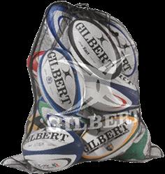 Gilbert rugbybal Bag Fine Mesh