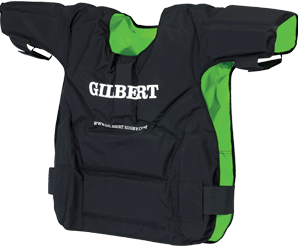 Gilbert bodyprotector Contact Top Blk/Grn Jun