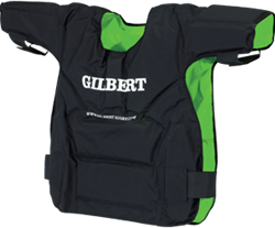 Gilbert bodyprotector Contact Top Blk/Grn