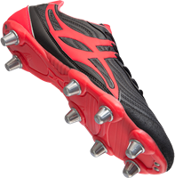 Gilbert rugbyschoenen sidestep V1 Lo8S Hot Red 13-2