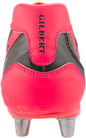 Gilbert rugbyschoenen sidestep V1 Lo8S Hot Red 10-3