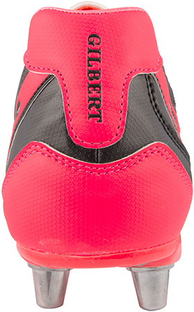 Gilbert rugbyschoenen sidestep V1 Lo8S Hot Red 10.5-3
