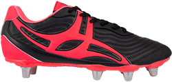 Gilbert rugbyschoenen sidestep V1 Lo 8S Hot Red 6