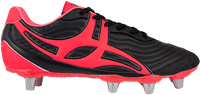 Gilbert rugbyschoenen sidestep V1 Lo8S Hot Red 10.5